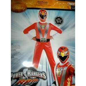 Power Rangers Costume Disguise 4   6 Red: Sports