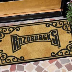 Arkansas Razorbacks NCAA Door Mat