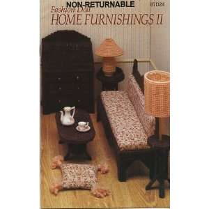 Annies Attic Fashion Doll Home Furnishings Ii (87dd24) Annie Potter