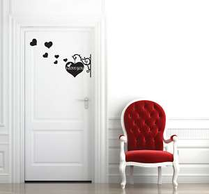Love You Wall Decor Sticker Removable Graphic Decal