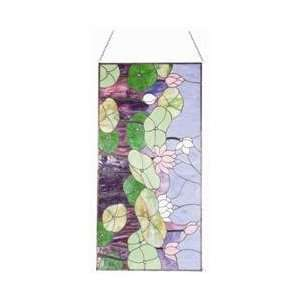 Hunter Lighting 41071 Multi Color Glass Water Lily Tiffany
