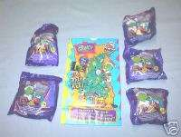 Wendys 2001 How the Grinch Stole Christmas Set of 5 MIP