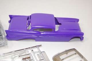 57 CHEVY PLUM CRAZY RACING HOT ROD DRAG FUNNY CAR MODEL KIT