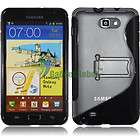 KICK STAND TPU COVER CASE for. AT&T Samsung Galaxy Note LTE I717+i9220