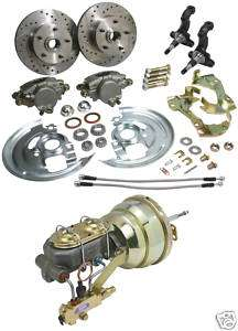 67 68 69 CAMARO POWER DISC BRAKE CONVERSION 7 BOOSTER