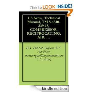 , Technical Manual, TM 5 4310 339 15, COMPRESSOR, RECIPROCATING, AIR