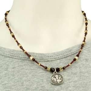 Florida State Seminoles (FSU) Ladies One Charm Necklace