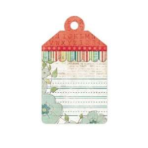 Anthologie Notes Embossed Tag (We R Memory Keepers) Arts