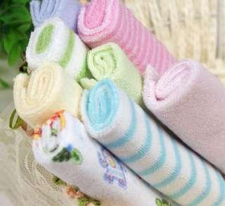 Pack Baby Soft Bath Towel Washcloth Wipe 23 x 23cm