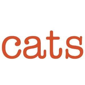 cats Giant Word Wall Sticker