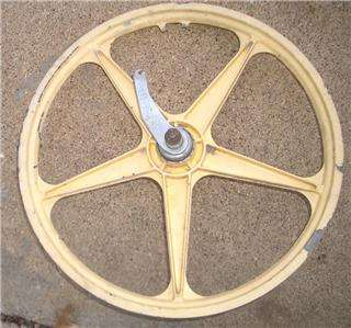 Old School 20 Alloy Mag BMX Bike Sachs Coaster Bike Wheel Set