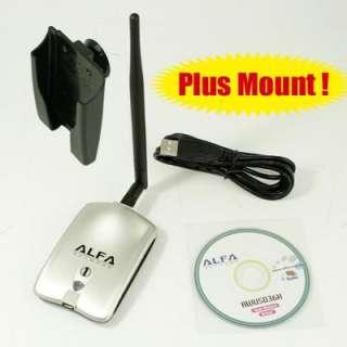 ALFA 802.11g High Power Wireless USB WiFi Adapter 1000mW with 5 dBi