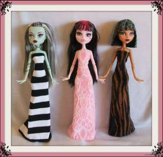 LOT #1 Clothes Clothing Handmade 4 MONSTER HIGH DOLL Custom Fashion