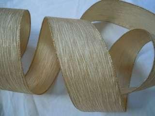 FLOCKING LEOPARD CHEETAH ANIMAL PRINT Wired Crafts Ribbon 5 YDS