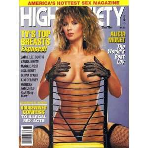 High Society Magazine June 1990: High Society: Books