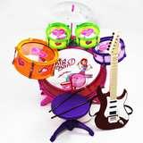Set Girl Musical Instrument Toy Black Boys Music Band Children