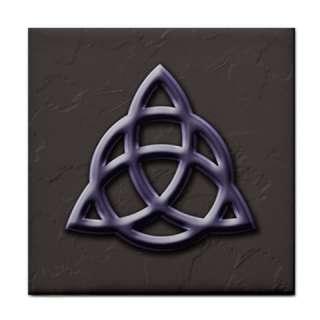 Triquetra Pagan Wiccan Celtic Symbol Ceramic Tile
