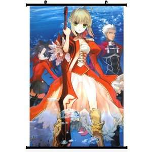 Home Decor Japanese Anime Wall Scroll Poster Fate Stay Night Saber(DIY