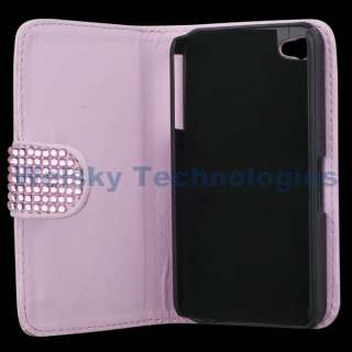 HELLO KITTY LEATHER BLING FLIP CASE FOR IPHONE 4S 4 4G 4Gs PC99
