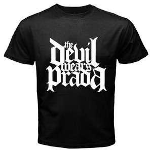 New The Devil Wears Prada Mens Black T shirt Size S   3XL