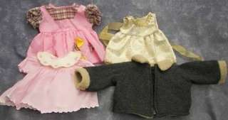 American Girl Bitty Baby w/Clothes, Diapers, Shoes   Lt Skin, Blonde