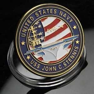 NAVY USS John C. Stennis CVN 74 Challenge Coin 627