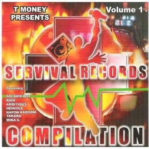 SERVIVAL RECORDS COMPILATION BABY DREW, MR DO IT TO DEATH