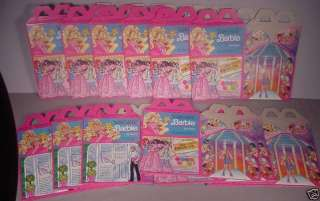 1990s McDonalds Barbie Happy Meal Toys Polly Pocket 47