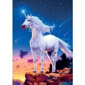 Glow in the Dark Unicorn Comets Jigsaw Puzzle 100pc Toys