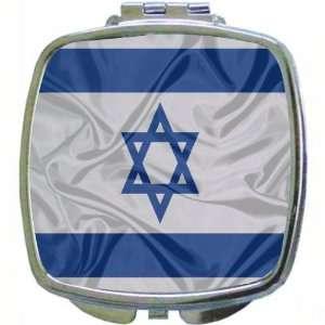 Rikki KnightTM Israel Flag image Compact Mirror Cool