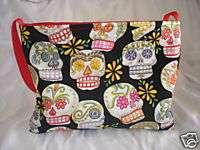 Punk rock Tattoo Sugar Skull baby Diaper bag purse tote
