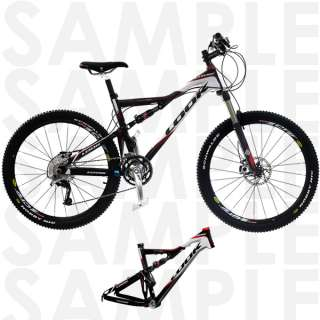 Look Carbon Mountain Bike Frame with Rock Shox Shock 17