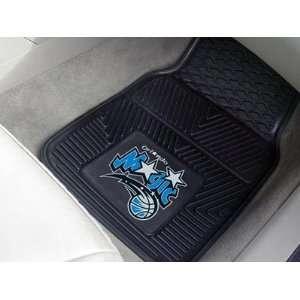 NBA Orlando Magic 2 Piece Heavy Duty Vinyl Floor Car Mat
