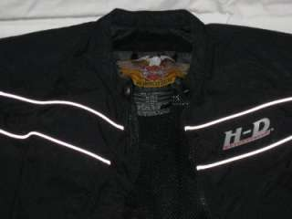 Harley Davidson Black Riding Jacket Coat Womens Small