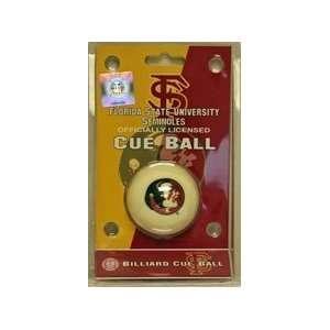 Florida State Seminoles Cue Ball NCAA College Athletics