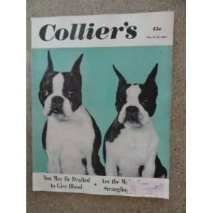 Colliers Magazine March 10,1951 (Cover Only) cover art by Bob Hanks/2