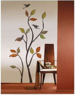 Bird & Tree Art Deco Vinyl Wall Paper Sticker Decal 267