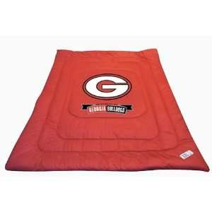 NCAA GEORGIA BULLDOGS FULL / QUEEN BED COMFORTER