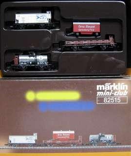 Marklin Z 82515 Freight Car Set DRG, Era II, boxed, C 9