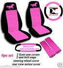 nice set spoiled car seat covers CHOOSE COLOR MATCHING ITEMS AVAILABLE