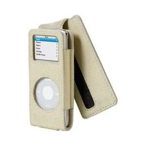 Belkin Canvas and Leather Flip Case for iPod nano 2G