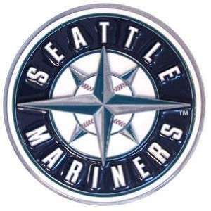 MLB Trailer Hitch Cover   Seattle Mariners