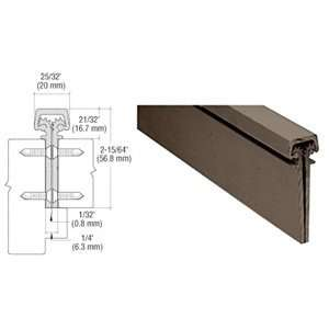 Dark Bronze Heavy Duty Concealed Continuous Hinge