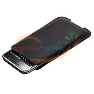 Premium Leather Pouch Case Shell Bag for Samsung Galaxy S2 II Epic 4G