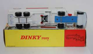 DINKY TOYS 945 AEC ESSO GAS TANKER TIGER IN TANK STICKER