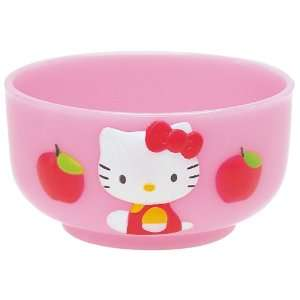 Sanrio Hello Kitty Apple Shape Bowl #0687 Baby
