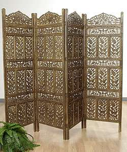Flower Jali 4 panel Screen (India)
