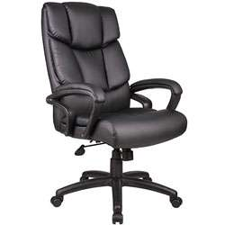 Boss Italian Top Grain Leather Executive Chair