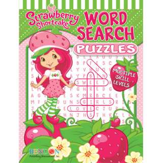 Strawberry Shortcake Puzzle Book Pretend Play, Arts