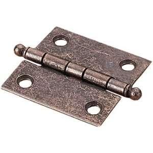 2 x 2 Cabinet Hinge, Steel Base (Pair)